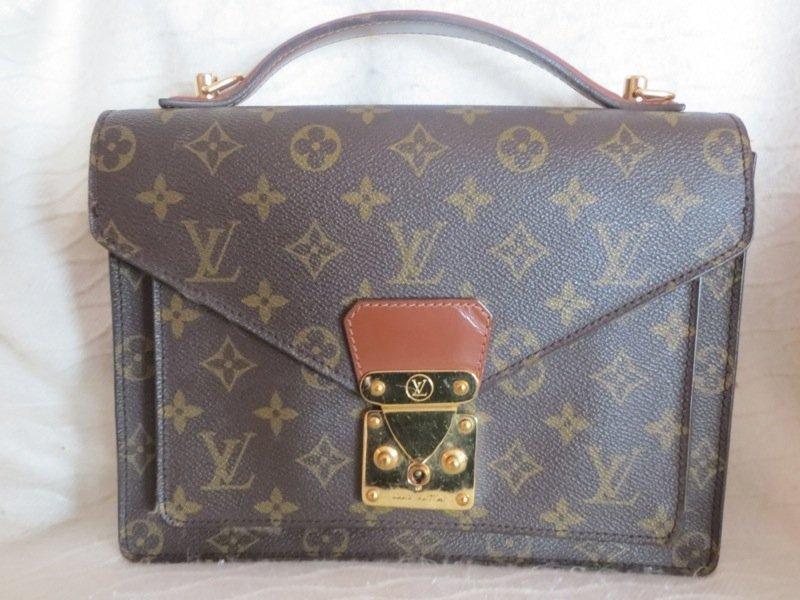 Louis Vuitton Portfolio Clutch with Handle