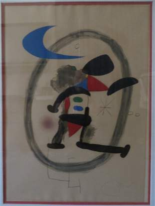 Joan Miro (Spanish, 1893-1983), Untitled