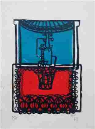 Amelia Pelaez (Cuba 1896-1968) Untitled, 1964