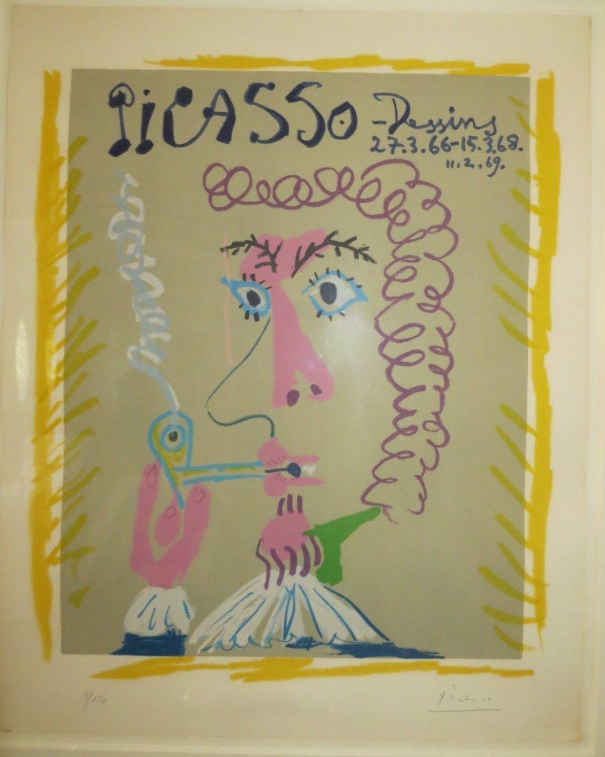 Pablo Picasso (Spanish, 1881-1973) Fumeur