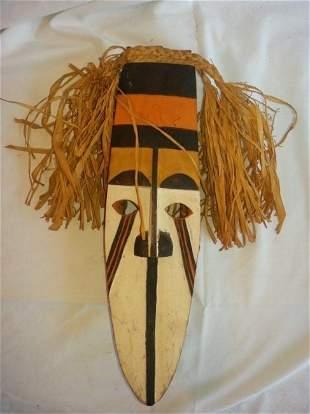 Nigeria, Ibo-afikbo, Igri Or Okonkpo Mask