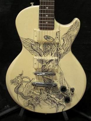 Customized Guitar by Adrian Menendez