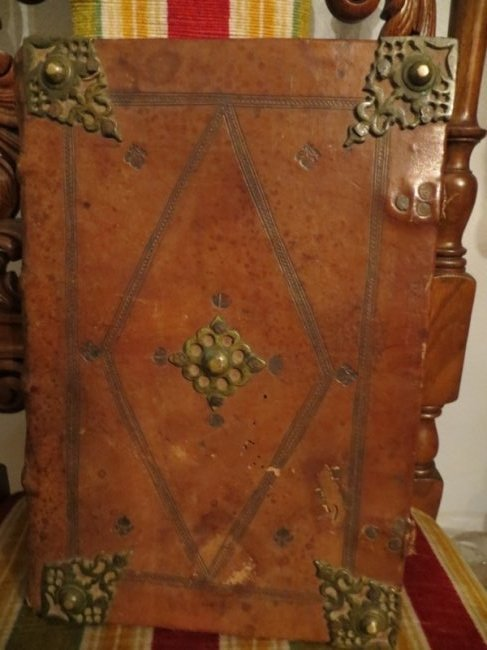 Antiphonary Manuscript in original binding, Spain, 1768