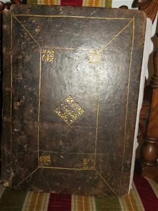 Vellum Antiphonary Manuscript, Spain, 16th C.