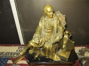 French Gilt Bronze Model of Copernicus