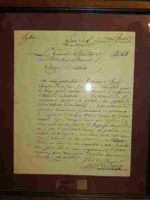 Letter Written & Signed By General Bernadotte