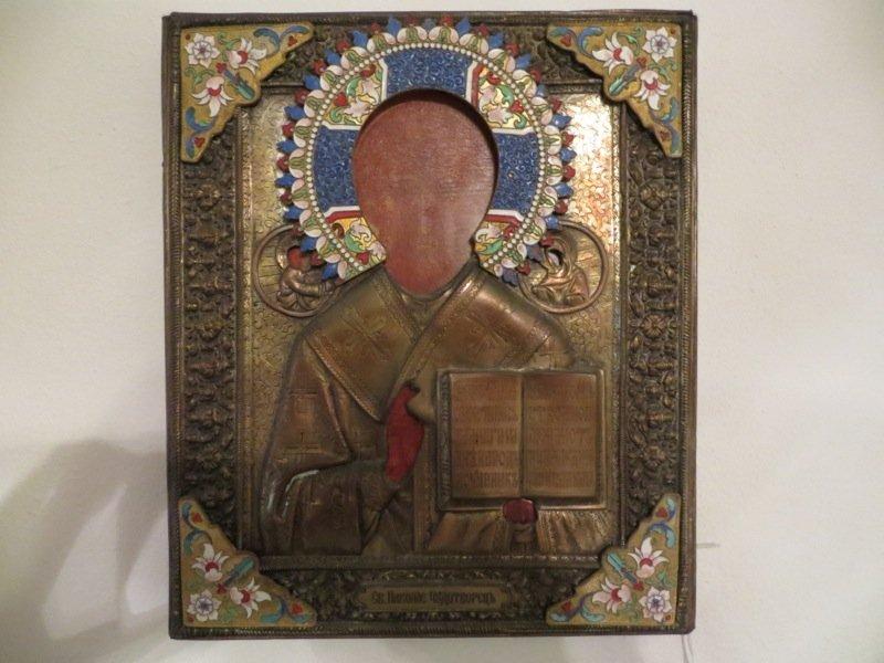 Russian icon of St Nicholas the Wonderworker