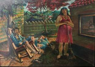 Carmelo Gonzalez, Oil on Canvas