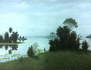 Raul Perdomo, Oil on canvas