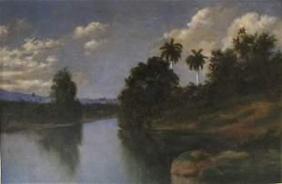 Juan Gil Garcia, Oil on canvas