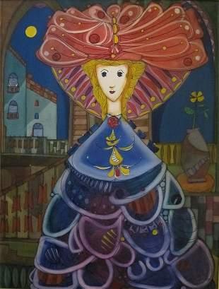 Jose Mijares, Oil on canvas