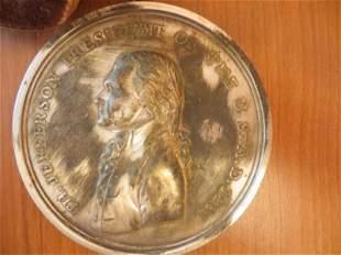 Thomas Jefferson 1801 Peace Medal