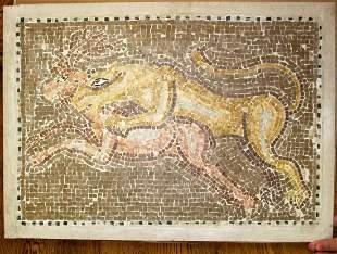 Ancient Roman Mosaic from Tunisia