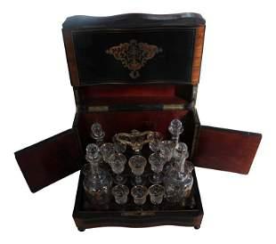 Fine Napoleon III French Tantalus Cordial Set