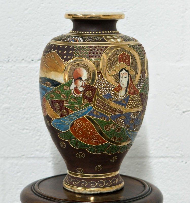 Satsuma style vase kannon arhats japanese satsuma style vase kannon arhats reviewsmspy