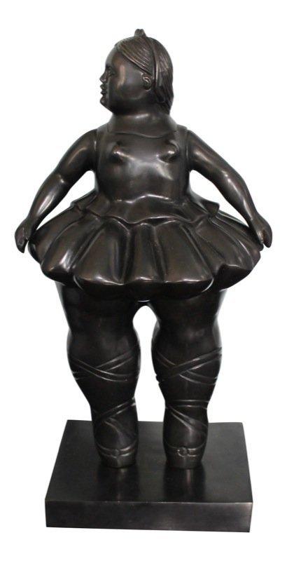 Fernando Botero (Colombian b. 1932) Ballerina Sculpture