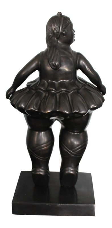 Fernando Botero (Colombian b. 1932) Ballerina Sculpture - 3