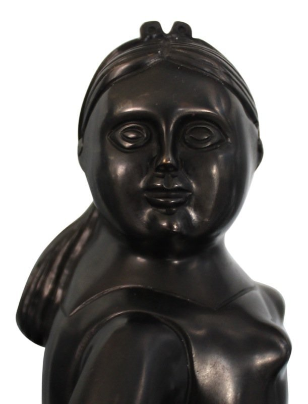 Fernando Botero (Colombian b. 1932) Ballerina Sculpture - 4