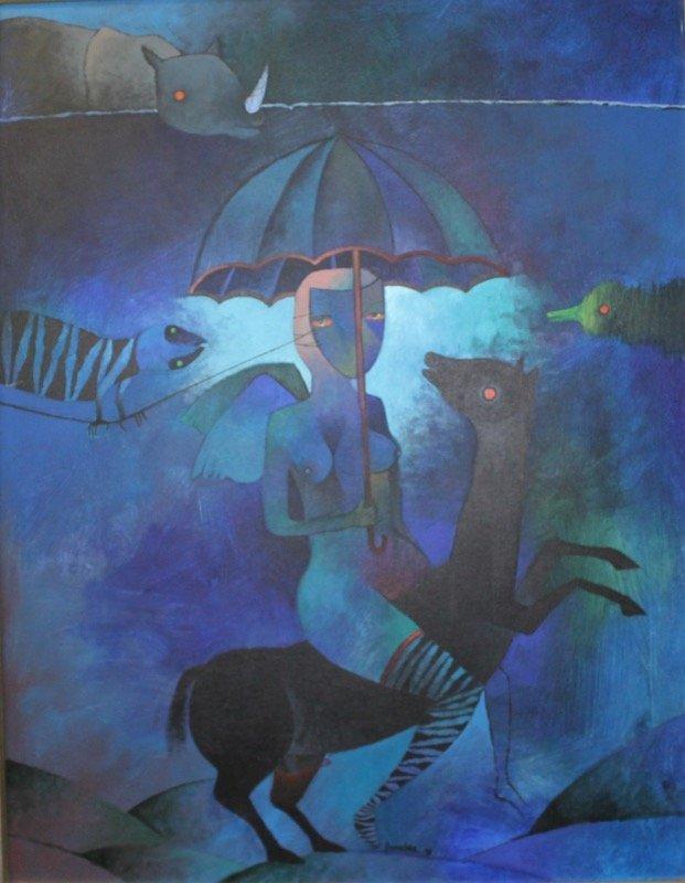 Juan Vicente Bonachea, Acrylic On Canvas