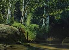 Eduardo Estrada Roque, Oil On Canvas