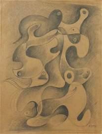 Arshile Gorky, Drawing