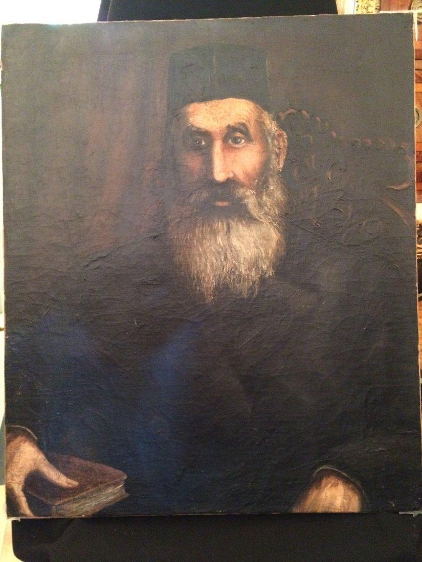 Anonymous Portrait, Oil on canvas