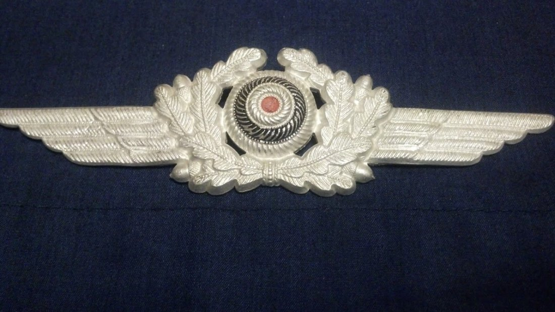 World War 2 Luftwaffe Hat Insignia D.R.G.M. German