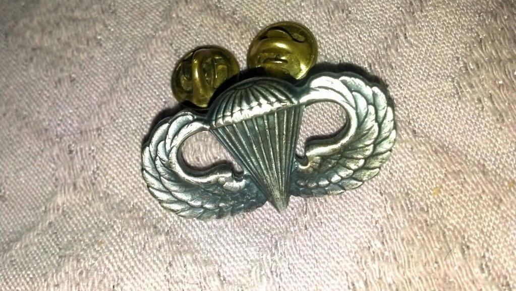 United States Military Paratrooper Badge