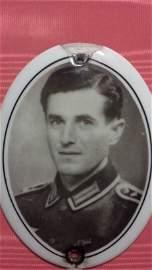 WW2 Nazi Veteran Cameo Porcelain