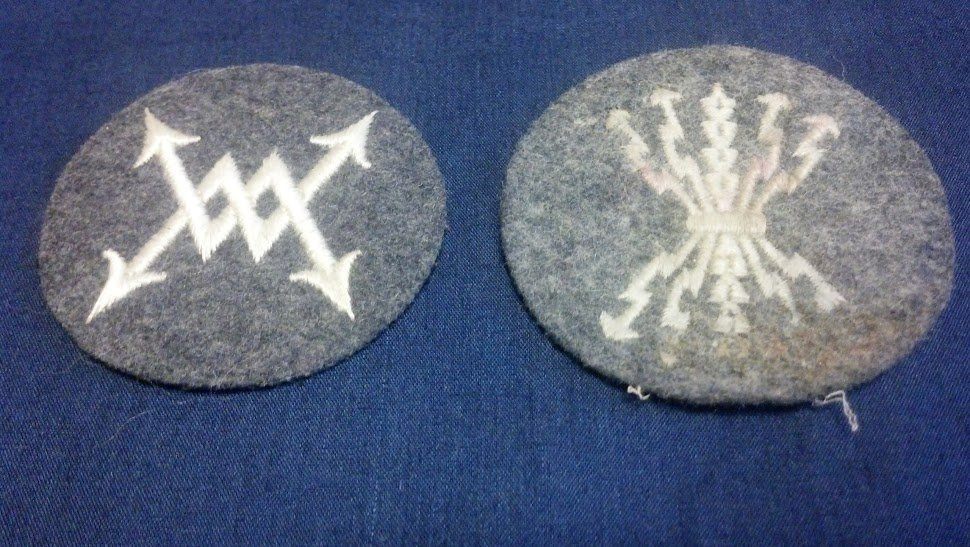 Luftwaffe Nazi WW2 Communications German Patch Lot