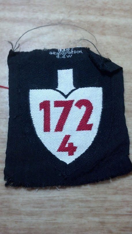 Nazi Germany WW2 RAD Civil Defense Cloth Number