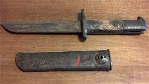 Custom WWI Era German Bayonet Short Blade