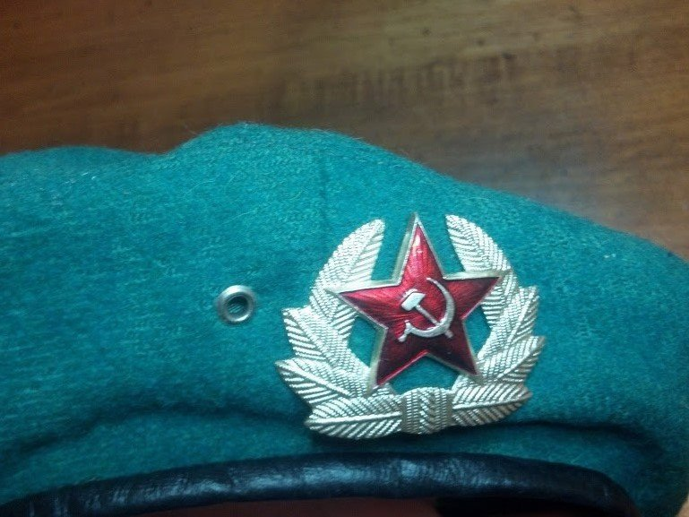Cold War Post WW2 Era Russian Spetsnaz hat - 3