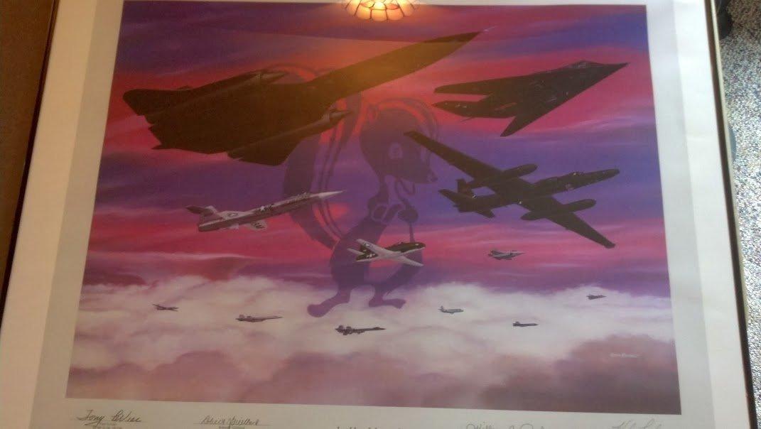 Autographed Lockheed Martin Legends of Aerospace RARE!