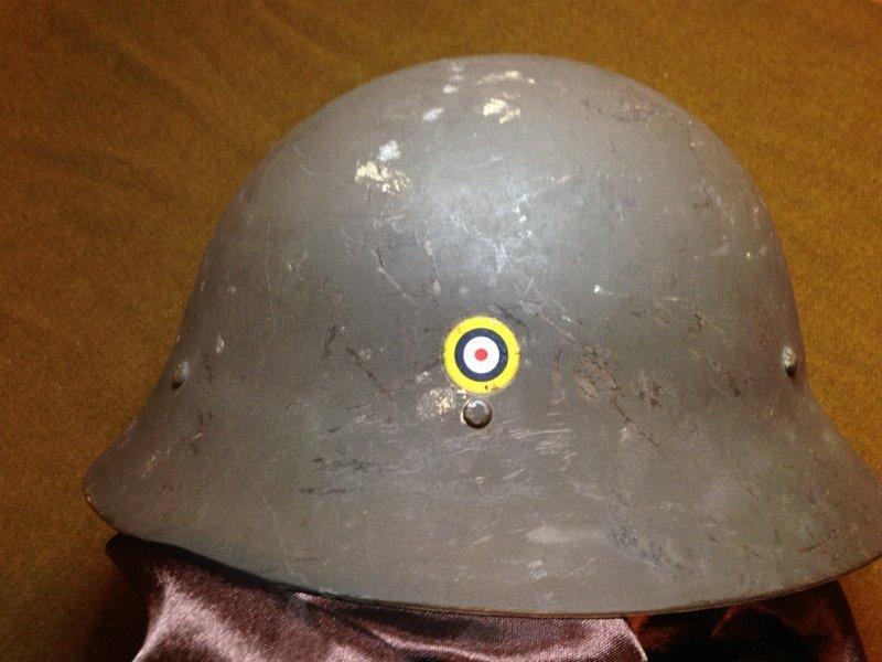 Helmet from Great Britain Estate Unique!