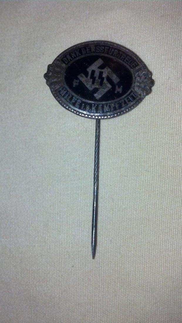 One of a Kind SS Nazi WW2 Stick Pin