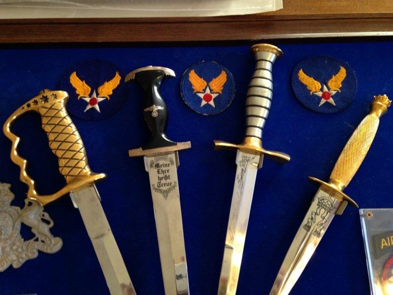 WW2 Veteran Custom Plaque Knives of World War 2 - 3