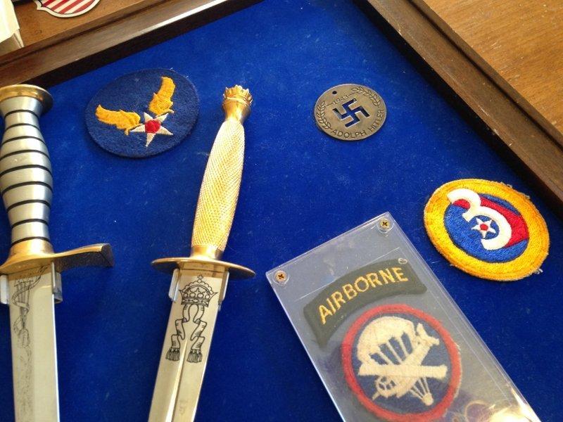 WW2 Veteran Custom Plaque Knives of World War 2 - 7