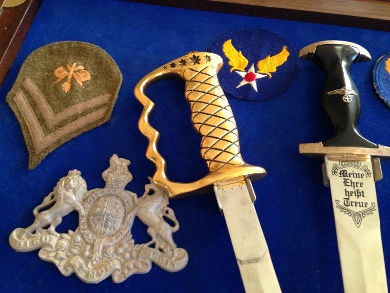 WW2 Veteran Custom Plaque Knives of World War 2 - 8