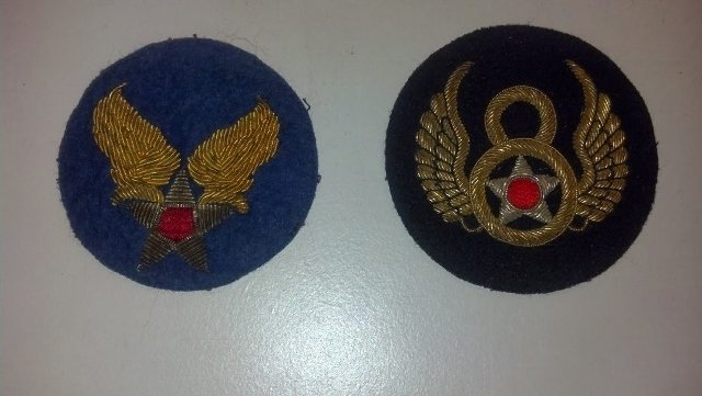 8th Air Force USAAF Bullion Patch Lot