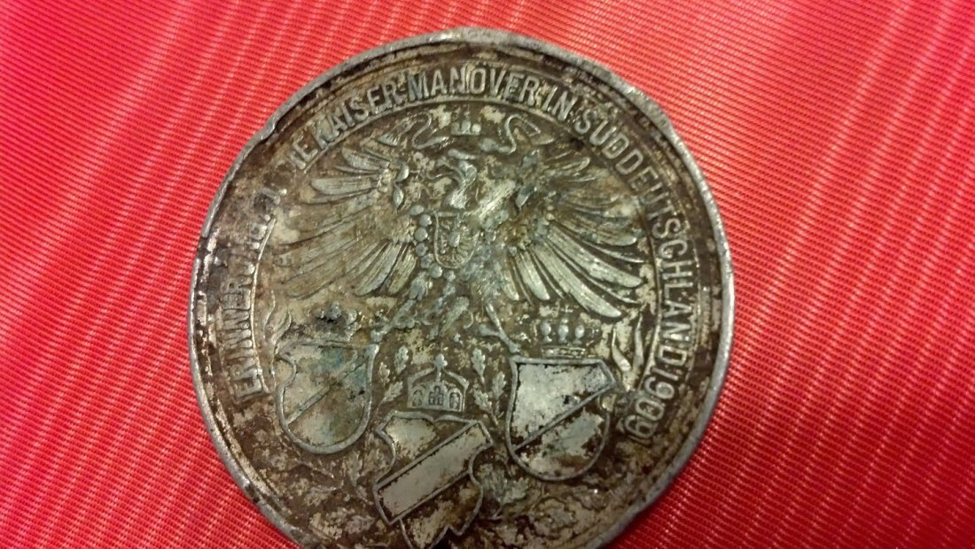 German Pre WWI Division Medallion from Veteran