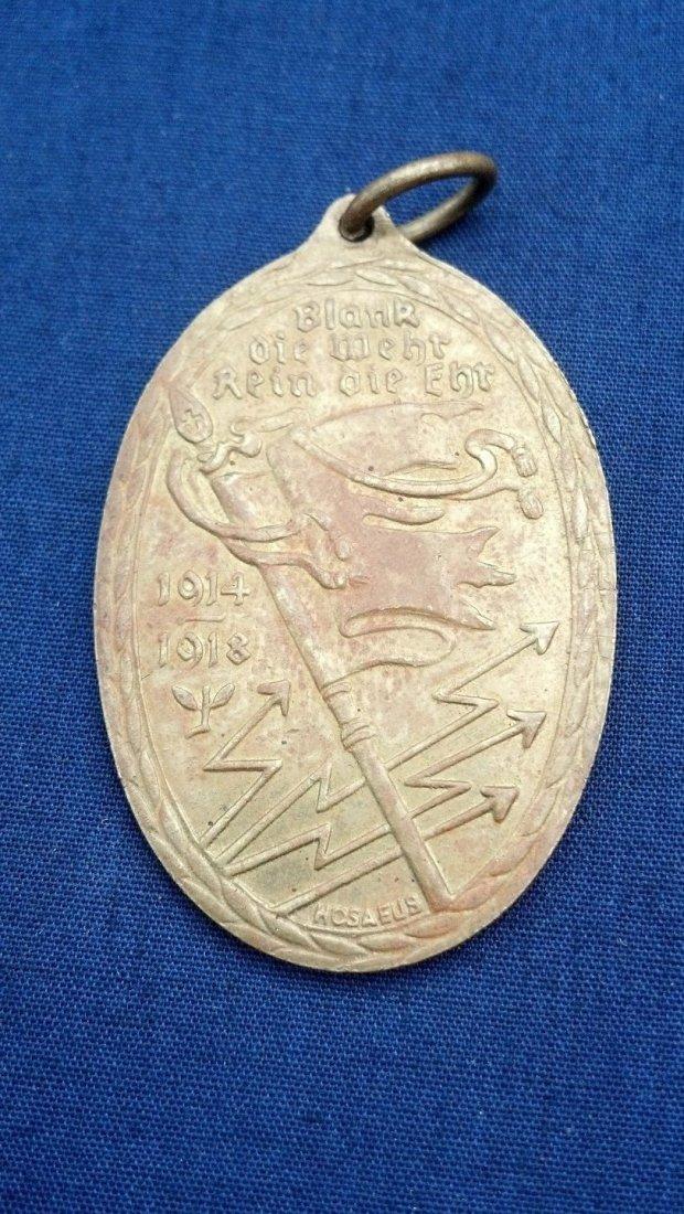 German WWI Service Medal Western Front