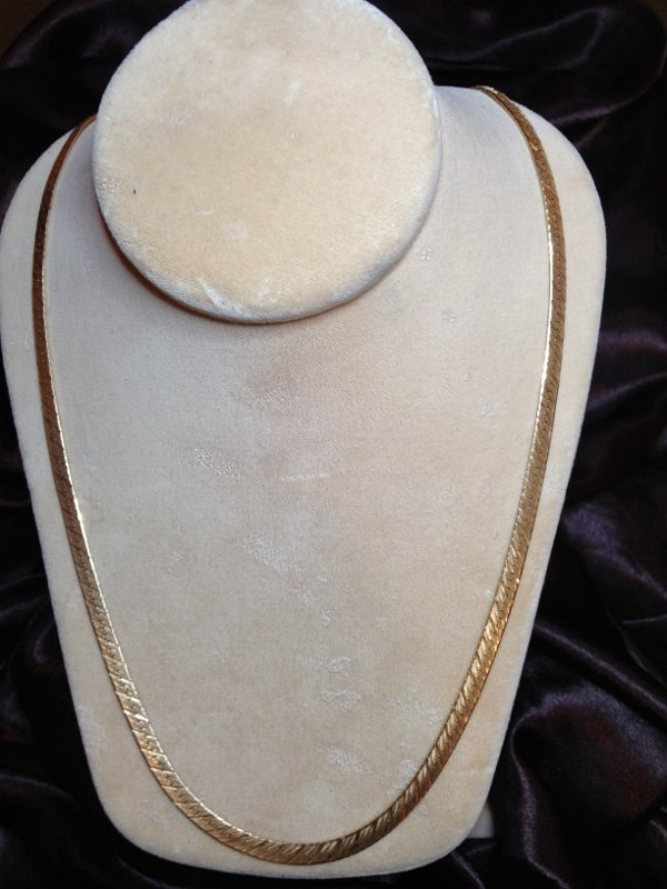 Beautiful 14K Gold Chain made Italy Marked Tested 24g!