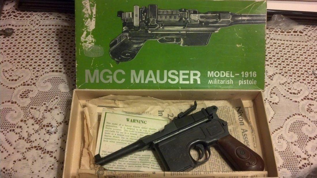 Rare WW2 Mauser Broomhandle Luger Rare Marketing Model!