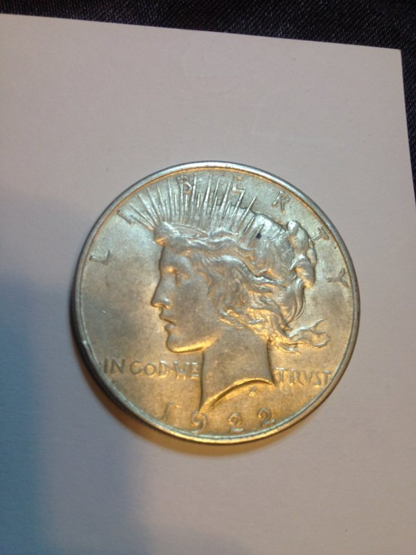 Silver Peace Dollar Excellent Condtion from Estate 90%