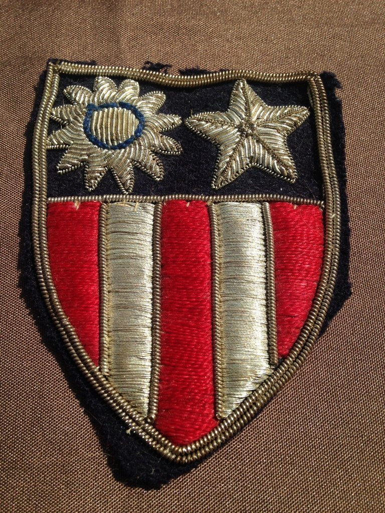 United States Army Air Forces CBI Bullion Patch