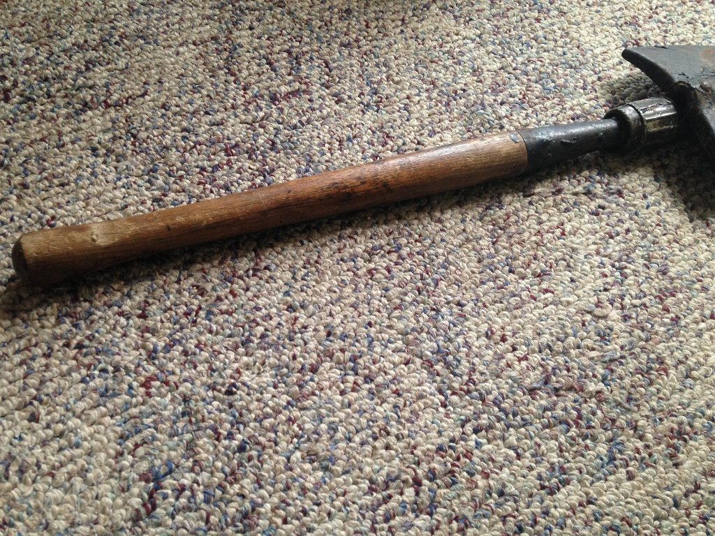 German Nazi WW2 Shovel Issued during World War 2 - 4