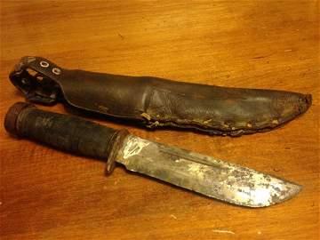 Quartermaster Knife WWI Era RARE United States Army