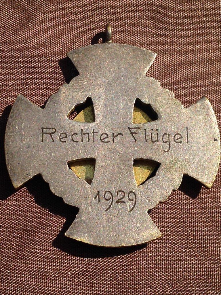 "1929 German Marksman Cross Award ""Right Wing"" - 2"