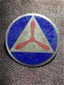 WW2 Sterling CAP Combat Air Patrol Pin Enamel Military